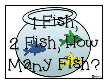 One Fish, Two Fish, How Many Fish? Missing Addends {Dr. Seuss}