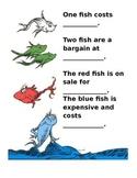 One Fish Two Fish Money Worksheet