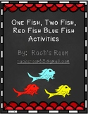 One Fish, Two Fish, Red Fish, Blue Fish Activities