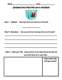 One Fish, Two Fish Red Fish, Blue Fish Estimation Activity