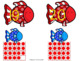 Red Fish Blue Fish Number Matching-Fish Counting for Pre-K/Kindergarten