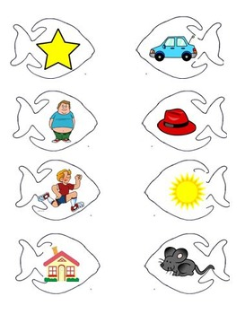One Fish, Two Fish Rhyming Activity