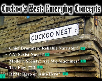 One Flew Over the Cuckoo's Nest: Part One Discussion