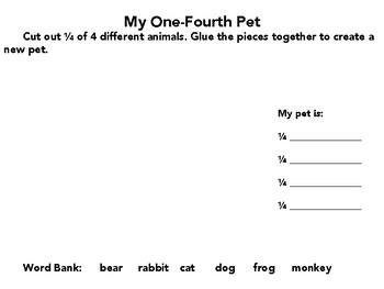 One-Fourth Animals