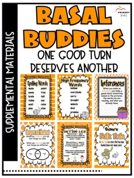 One Good Turn Deserves Another-Reading Street (2013)2nd Grade Unit 2 Week 5