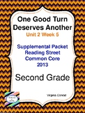 One Good Turn Deserves Another:  Second Grade Reading Street Packet