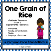 One Grain of Rice - Common Core Connections - Treasures Grade 2