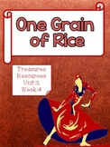 One Grain of Rice Focus Wall and Centers Treasures Common Core Alligned