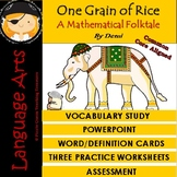 One Grain of Rice/ Vocabulary Study/Common Core Aligned