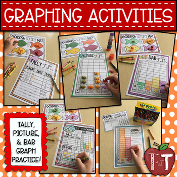 One Graph, Two Graphs, Three Graphs, More! {Goldfish Activities}