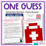 Unlock the Biography: Women's History Month Game and Activities: Clara Barton