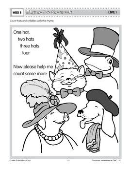 One Hat, Two Hats (Rhythm and Rhyme)