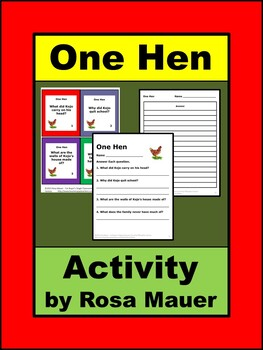 One Hen Literacy Task Cards