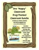 One Hoppy Classroom!  Frog Themed Classroom Bundle