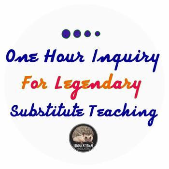 One Hour Inquiry for Legendary Substitute Teaching: Machu Picchu