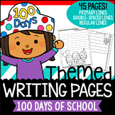 100 Day Writing Paper