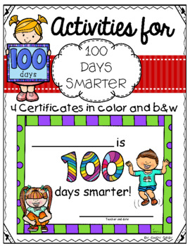 image regarding 100 Days Smarter Printable referred to as 100 Times Smarter Certification Worksheets Training Components