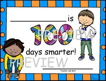 One Hundred Days Smarter Certificates
