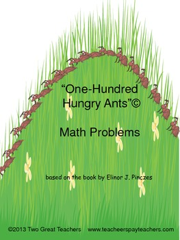 """One Hundred Hungry Ants"" Addition"