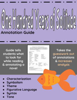 One Hundred Years of Solitude Annotation Guide