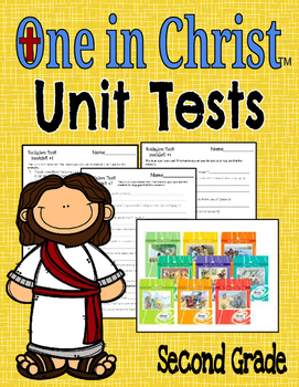 One In Christ Second Grade Booklet Tests