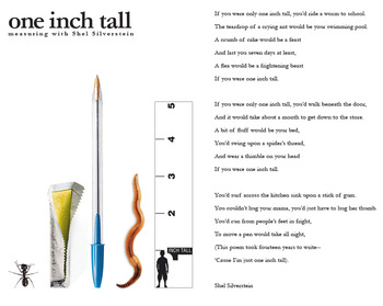 One Inch Tall: Measuring with Shel Silverstein