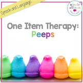 One Item Therapy {Candy Peeps}