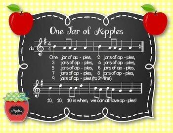 One Jar of Apples - Fall Counting Song