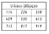 One Less Bingo (3 Digit)