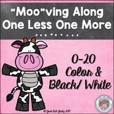 One Less One More Cow Themed Activity