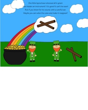 One Little Leprechaun: A Non-Pitched Percussion Listening Game