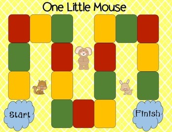 One Little Mouse Comprehension Game Kindergarten