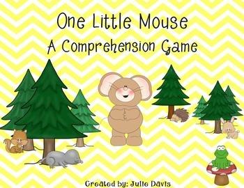 One Little Mouse Comprehension Game Kindergarten