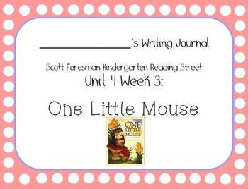 One Little Mouse Writing Journal (Kindergarten Reading Str