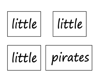 One Little Pirate Poem