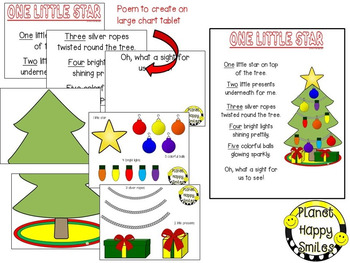 Christmas Activity ~ Poetry: One Little Star