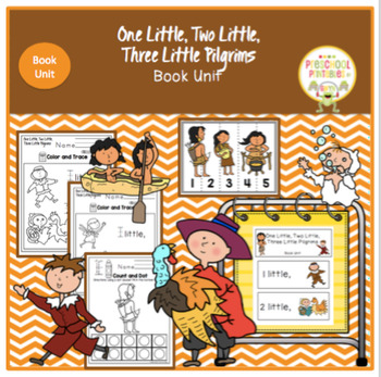 One Little, Two Little, Three Little Pilgrims - Book Unit