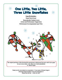 One Little, Two Little, Three Little Snowflakes (includes mp3 files)