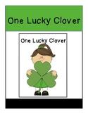One Lucky Clover Errorless Adapted Book