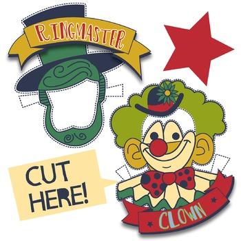 One Man Circus Clip Art