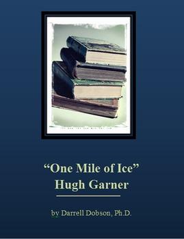 """""""One Mile of Ice"""" Hugh Garner Short Story"""