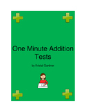 One Minute Addition Test