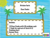 One-Minute Division Basic Facts Races
