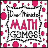 One Minute Math Games: 10 Games to Kill Down-Time Forever, Mental Math Games