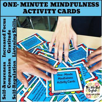One Minute Mindfulness Activity Cards