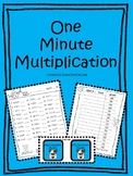 One Minute Multiplication (1-12)
