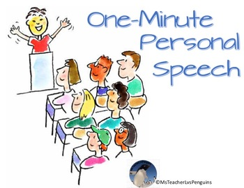One-Minute Personal Speech