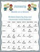One-Minute Social Skills for January (Daily Practice)