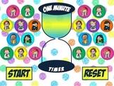 One Minute Timer PowerPoint (Melonheadz Edition)