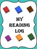 One Month Reading Log (Portrait View)